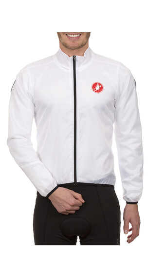 Castelli Squadra windjas long wit